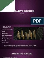Year 8 - Teaching Writing Skill