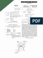 US9605376 brevetto