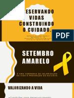 Preservando Vidas - Setembro Amarelo 2019