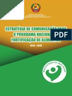Estratégia de Comunicação do Programa Nacional de Fortificação de Alimentos