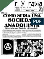 Revista Amor y Rabia Nr. 12 (18.05.1996)