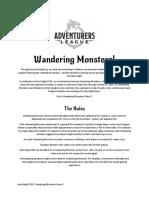 Wandering Monsters Wave 3