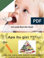 Prinsip Gizi Pada Bayi Dan Anak New