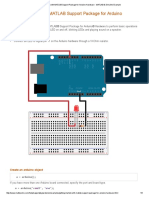 Getting Started With MATLAB Support Package for Arduino Hardware - MATLAB &Amp; Simulink Example