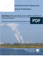 Nuclear Counter Terrorism - Physical Protection