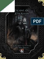 5E Solo Gamebooks - Citadel of the Raven.pdf