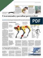 Un Avanzado y Peculiar Perro Robot