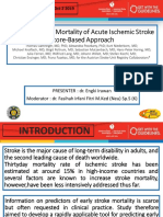 Predicting Early Mortality of Acute Ischemic Stroke