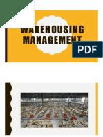 Warehousing Management