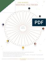 Lunar Abundance Moon Menstrual Tracker
