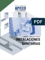 instalaciones sanitarias CAPECO