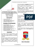 2º Simulado - PMRN (Soldado)