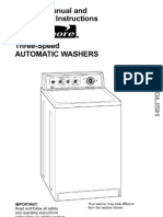 Kenmore Washer Manual