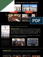 Legislativo y Ejecutivo