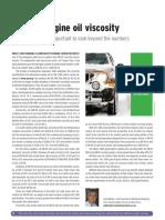 Engine Oil Viscosity