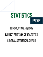 01 Introduction to the History of Statistics