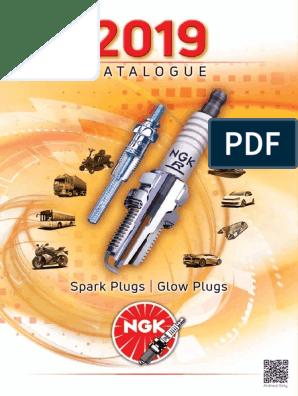 - Part No: Y-909R Stock no: 4602 NGK Glow Plug x6 Diesel Engines