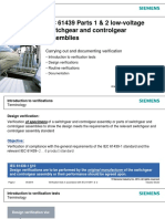 IEC 61439 Parts 1 & 2 Low-Voltage Switchgear and Controlgear Assemblies