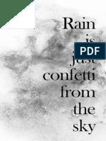 FREE Printable Citation Pluie LDP