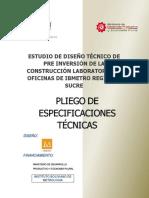 PLIEGO ESPECIFICACIONES TECNICAS IBMETRO SUCRE final.pdf