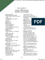 Direccion coral Indice de Autores