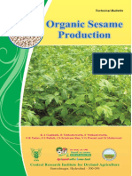 Organic Sesame Production
