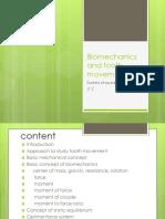 Biomechanics in orthodontic