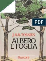 albero e foglia tolkien