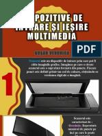 Dispozitive de Intrare Și Ieșire Multimedia