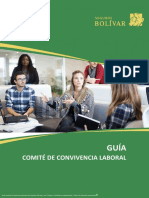 Guía Comité de Convivencia Laboral v19122018 ARL BOLIVAR