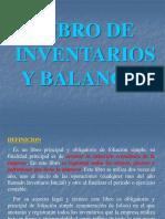 Libro de Inventario y Balance