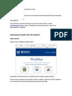 Nuevo Acceso Al Correo Oficial de La Dge