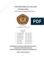 Makalah Prosedur Pengumpulan Data Dan Analisa Data