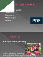 Jenis Musik Nusantara