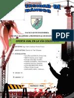 Oferta Vial en La via Colectora