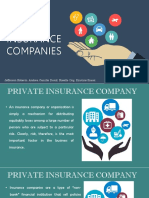 Private Insurance Companies