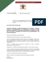 Lei Ordinária 9236 Sorocaba