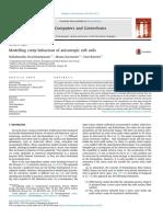 Sivasithamparam et al 2015 Modelling creep behaviour of anisotropic soft soils.pdf