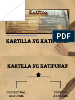 Kartilya ng Katipunan Content and Contextual Analysis