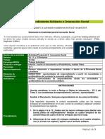 Actividad Descriptiva 4. Innovación Social III