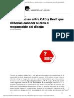 10 Diferencias Entre CAD y Revit Que Deberías Conocer Si Eres El Responsable Del Diseño-Especialista3D