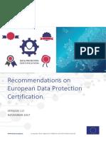 WP2017 O 2 1 1 GDPR Certification
