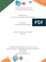 """Unidad 1 """"Legislación Comercial en Colombia"""