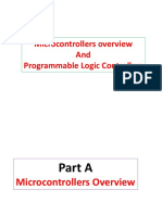 Microcontrollers and PLC