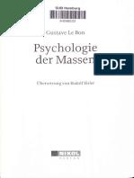 Psychologie Der Masse Teil 1