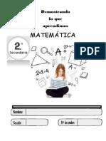 Cuadernillo ECE Matemática 2016