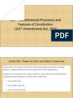 1.GST - Constitutional Provisions and Features of Constitution (101st Amendment) Act, 2016.pdf