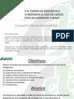 TIEMPO DE RESPUESTA MEDIANTE EL USO DE CASCOS