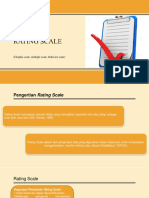 Contoh Rating Scale