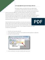 Cara Membuka Cell Excel Yang Diprotect Password Tanpa Software